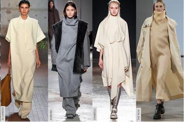 Las túnicas democratizan la silueta.