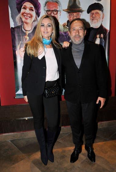 Guillermo Francella y su esposa Marynés Breña