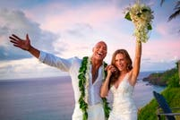 Dwayne Johnson, The Rock, se casó en secreto en Hawaii