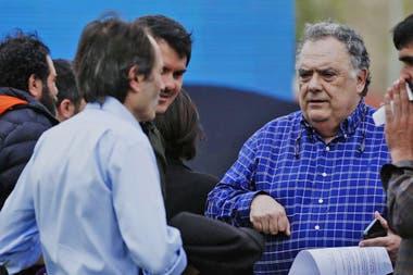 Gustavo Beliz con Eduardo Valdez