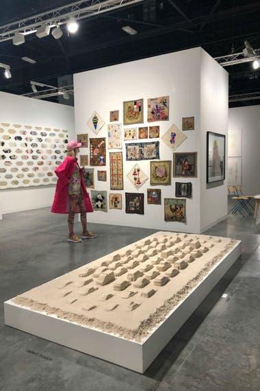 La maqueta del proyecto de Erlich fue exhibida el año pasado en Art Basel por la galería Ruth Benzacar