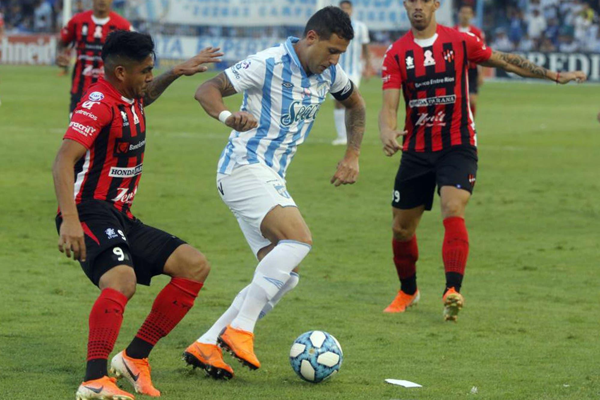 Atlético Tucumán-Patronato, por la Superliga: un golazo de Fabián Monzón le da otra victoria a los locales
