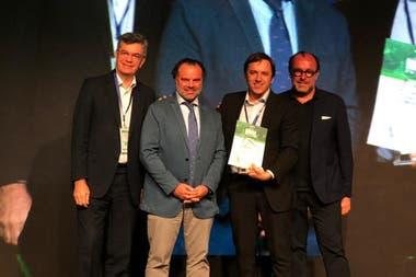 """El año pasado, el Secretario General de Redacción José del Rio había recibido el primer premio en los Latam Digital Media Awards por el desarrollo interactivo de la investigación """"Los cuadernos de las coimas"""""""