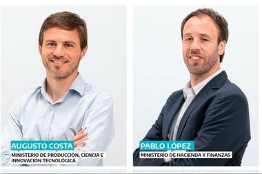 Producción y Hacienda, puestos clave del gabinete, a cargo de Cosa y López
