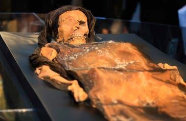 La momia de la Señora de Cao.