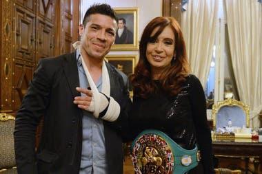 Un encuentro con Cristina Kirchner