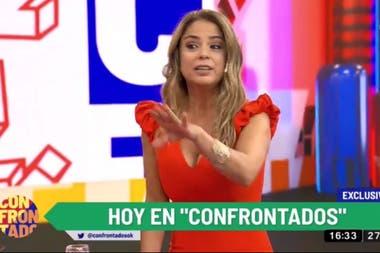 Marina Calabró entrevistó a Jorge Lanata en su primer programa al frente de Confrontados