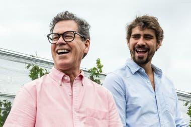 Paul Hobbs con Andrés Vignoni: llevan diez vendimias juntos en 5 años.
