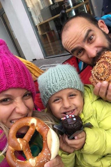 Aymará, Pancho y Ona, en Alemania