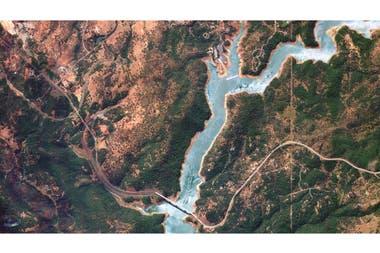 Imagen de California obtenida desde uno de los satélites