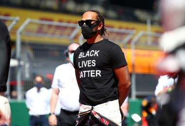 Lewis Hamilton, el campeón del mundo que ideó la iniciativa