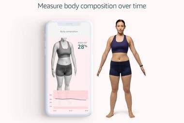 El sistema usa la cámara del celular para determinar la masa corporal de la una persona y recomendar actividades que contribuyan a reducirla