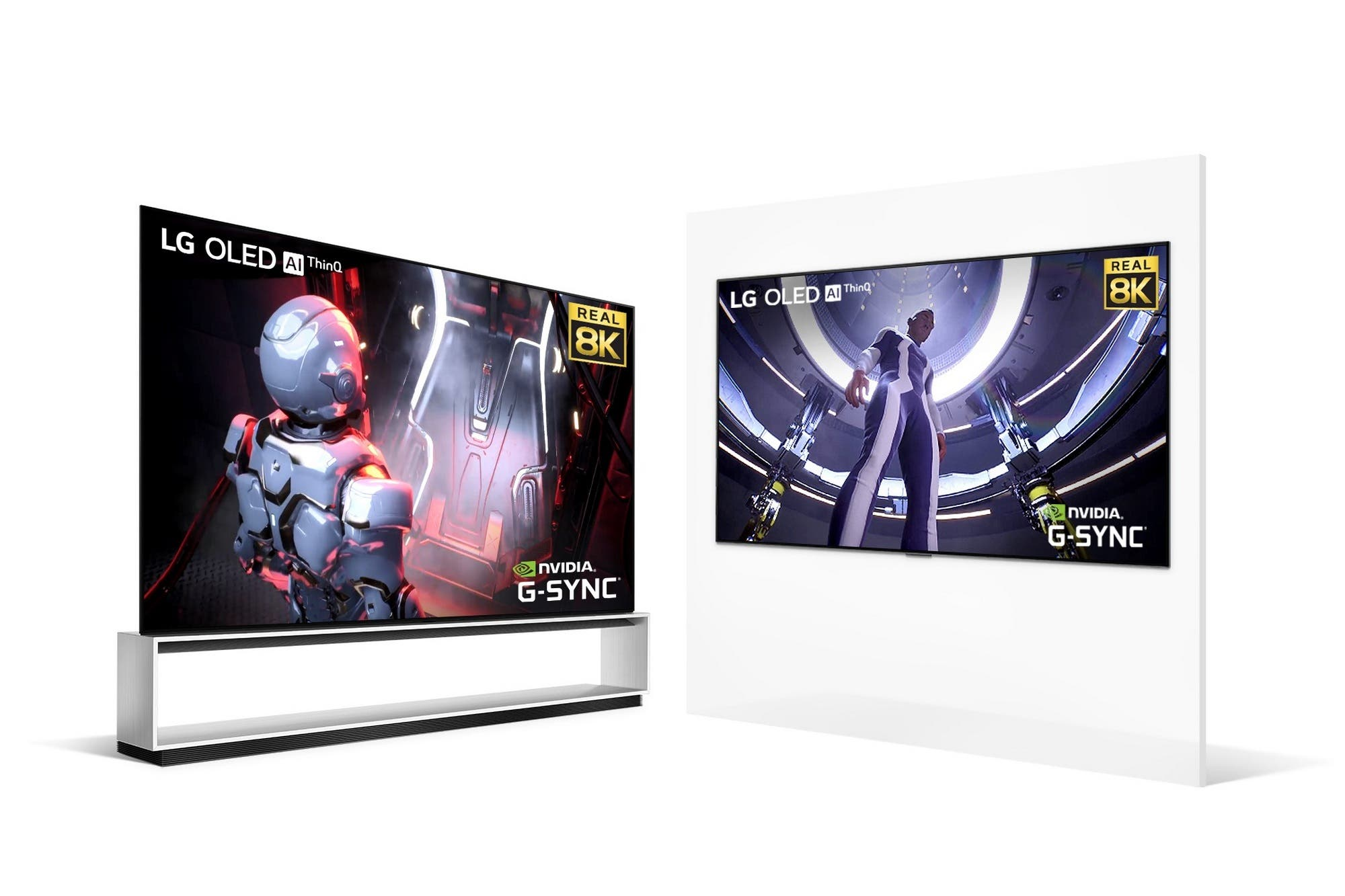 LG suma las placas de video Nvidia GeForce RTX 30 en sus televisores OLED 8K