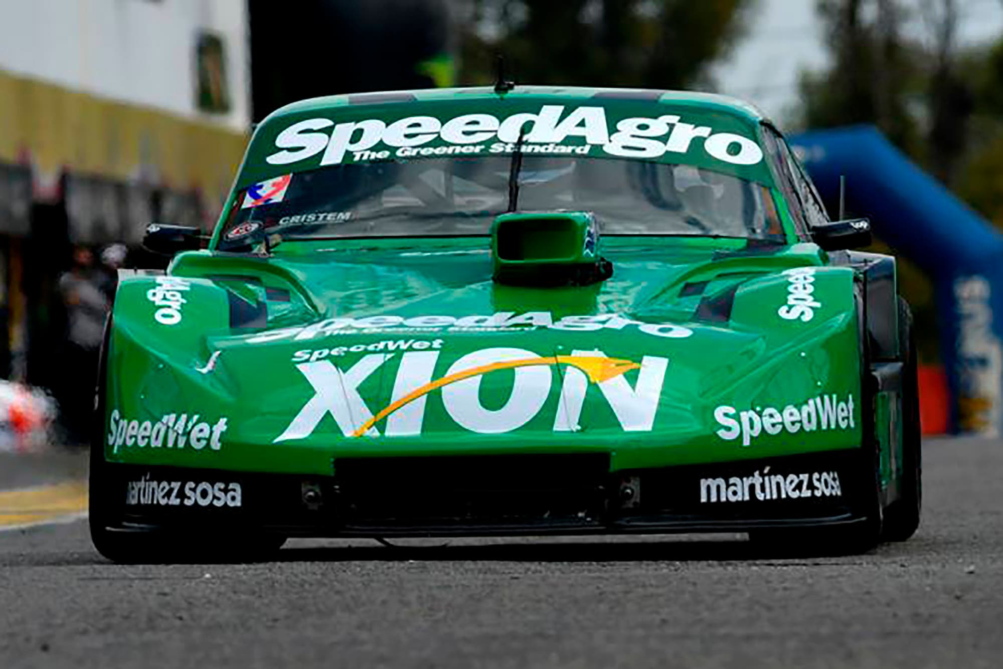 Agustín Canapino quedó primero un sábado, toda una rareza en un supercampeón de Turismo Carretera