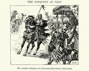 """""""En realidad, fueron los mismos indígenas prehispánicos el factor más importante en la caída del imperio"""", señala Dumett"""