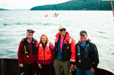 Miembros de una misión de la firma OceanGate Expeditions