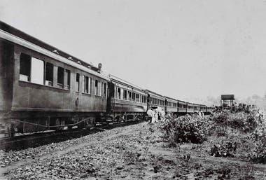 Antigua toma del tren. Dejó de funcionar en 1973.