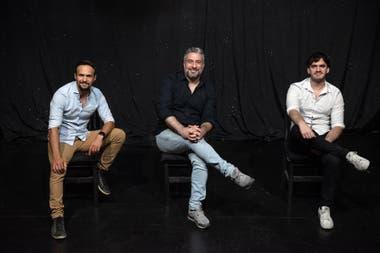 Nicolás Leguizamón, Mariano Taccagni y Agustín Iannone regresan a un escenario