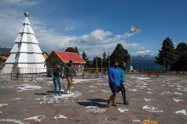 Los turistas llegaron desde otras ciudades de Río Negro, de Córdoba y de Neuquén
