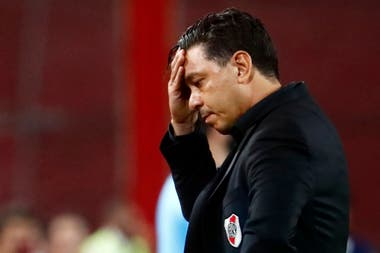 Marcelo Gallardo quiere que el equipo se enfoque en el duelo con Palmeiras sin pensar en los dos últimos malos partidos de River