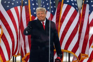 Trump alentó las protestas de sus seguidores antes de que se desatara el caos