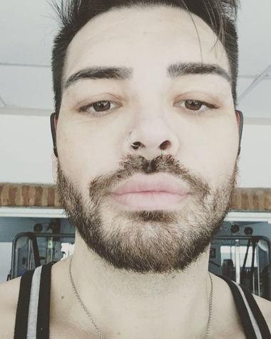 Una de las recientes imágenes que Fran Mariano publicó en su cuenta de Instagram