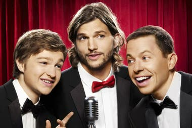 Ashton Kutcher ya comenzó a grabar Two and a Half Men