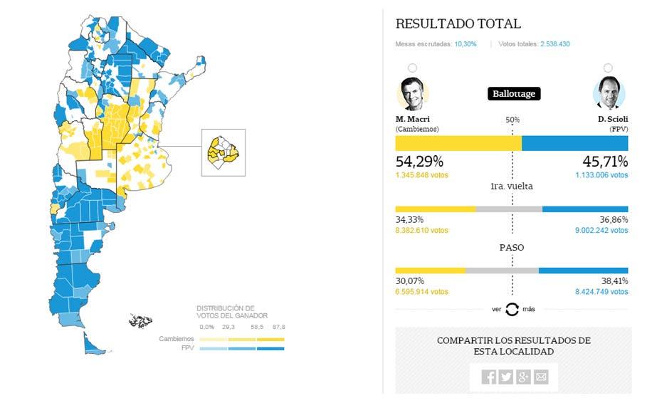 Mapa De Elecciones 2015.Elecciones 2015 Mapa Interactivo De Resultados Del