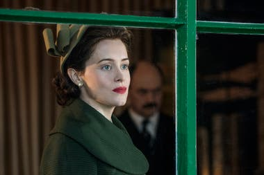 Claire Foy en The Crown