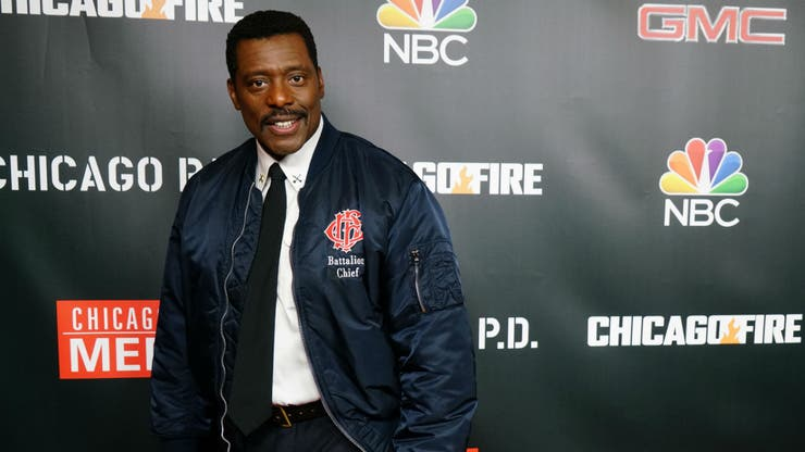 Eammon Walker, en la alfombra roja de One Chicago Day