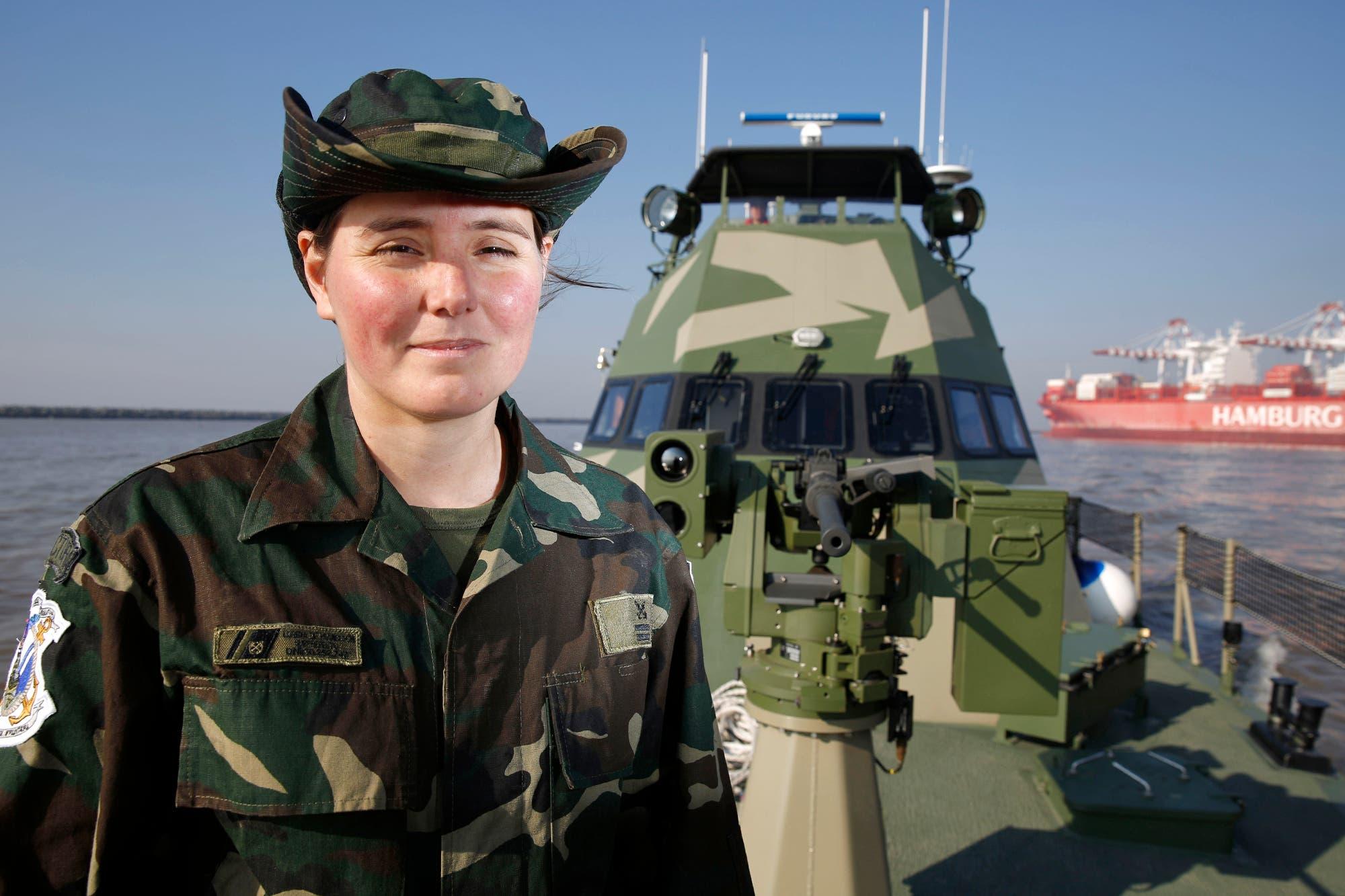 Por primera vez, una mujer estará al frente de una embarcación de combate de la Prefectura
