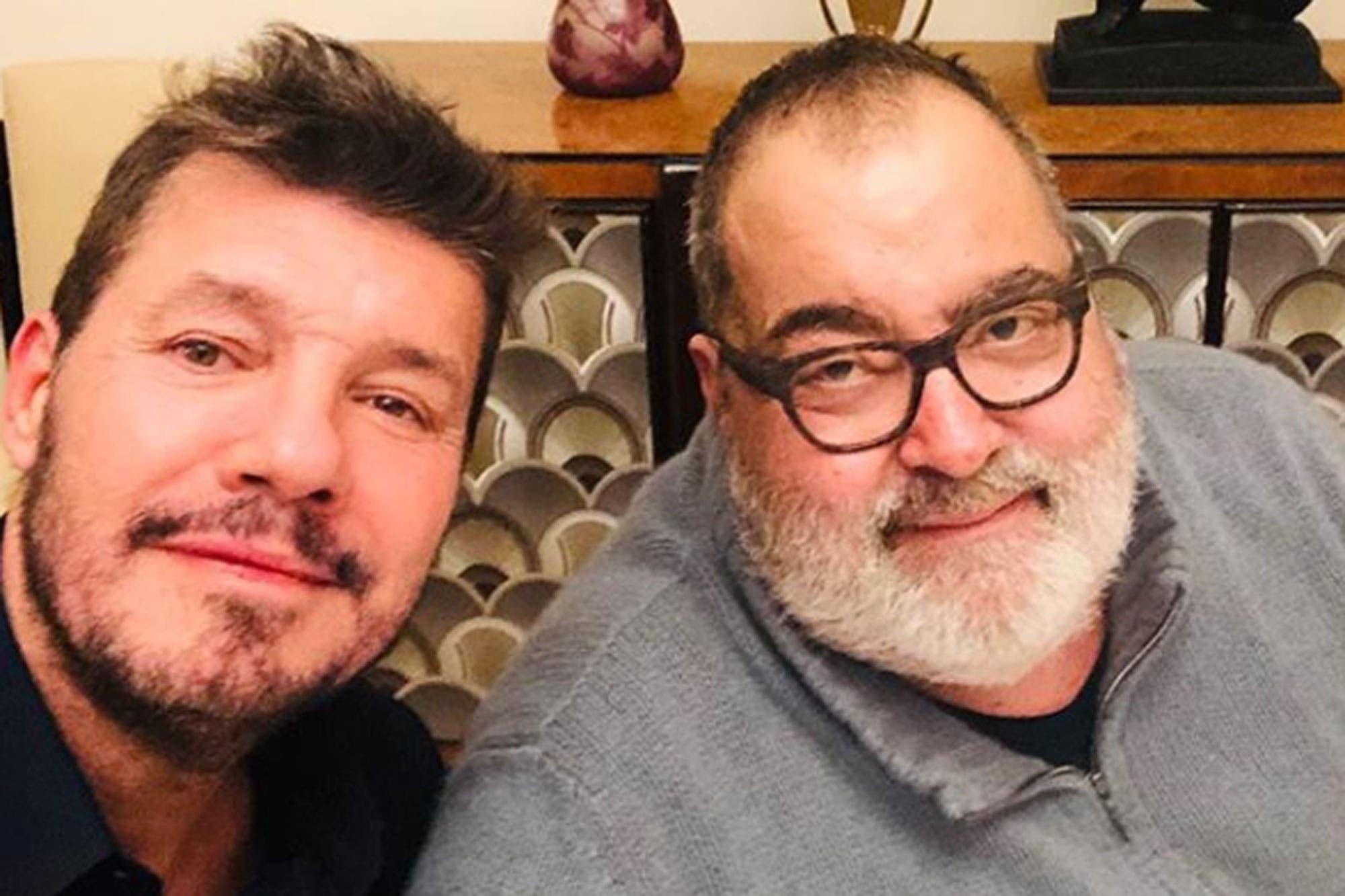 Marcelo Tinelli se juntó a comer con Jorge Lanata