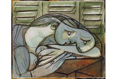 """Dormeuse aux persiennes"", óleo y carbonilla sobre lienzo, 1936"