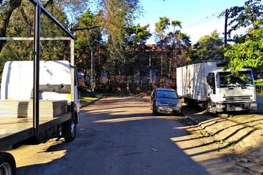 La estación Ludueña, en Rosario