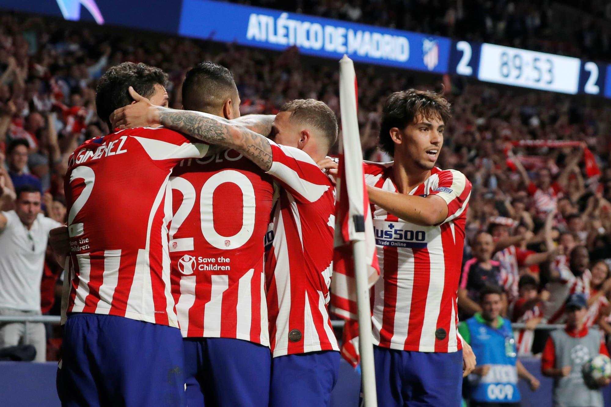 Champions League: Atlético de Madrid reaccionó y le empató a Juventus tras estar dos goles abajo