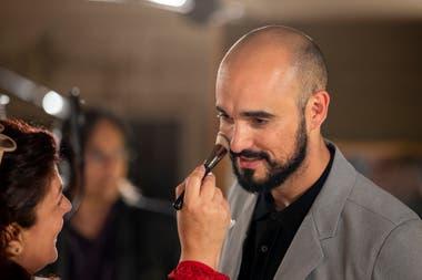 Abel Pintos, en los estudios ION