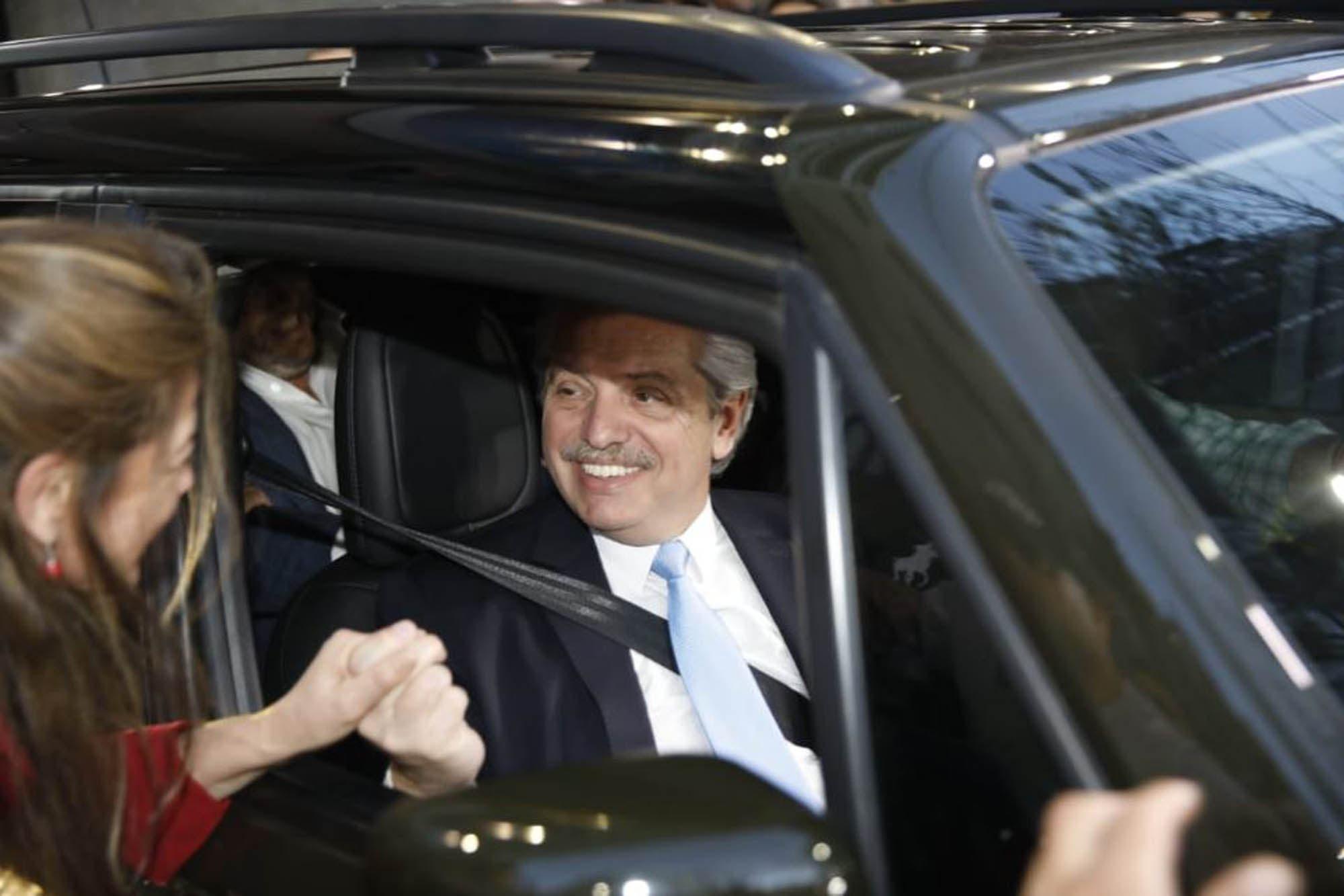 """Alberto Fernández dijo que Cristóbal López y Fabián De Sousa """"nunca debieron haber estado detenidos"""""""
