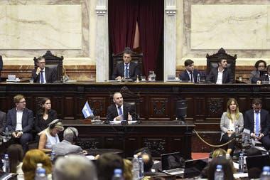 El ministro Martín Guzmán evitó polemizar con la oposición en la Cámara baja