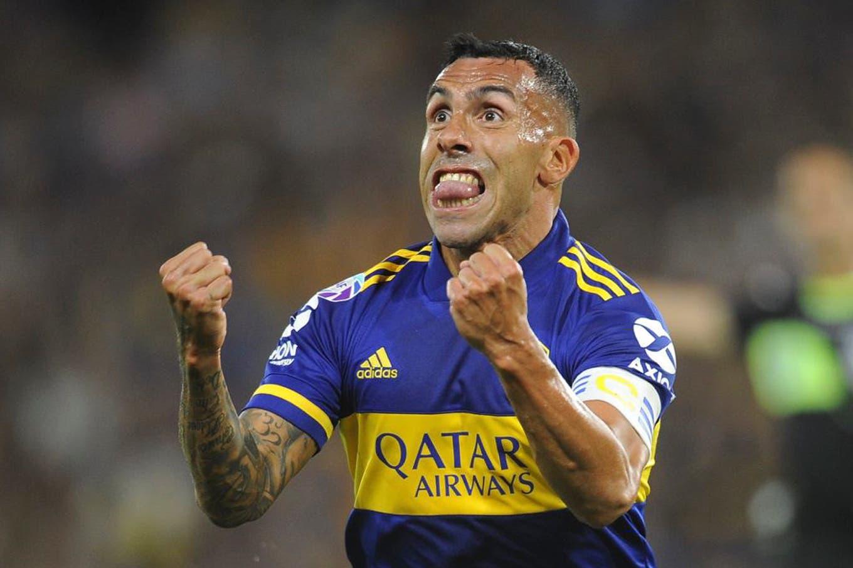 Boca-Godoy Cruz, por la Superliga: un bombazo de Tevez hizo explotar la Bombonera