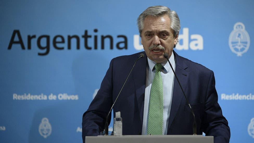 """Alberto Fernández: """"El nivel de acatamiento social de la cuarentena es muy alto"""""""
