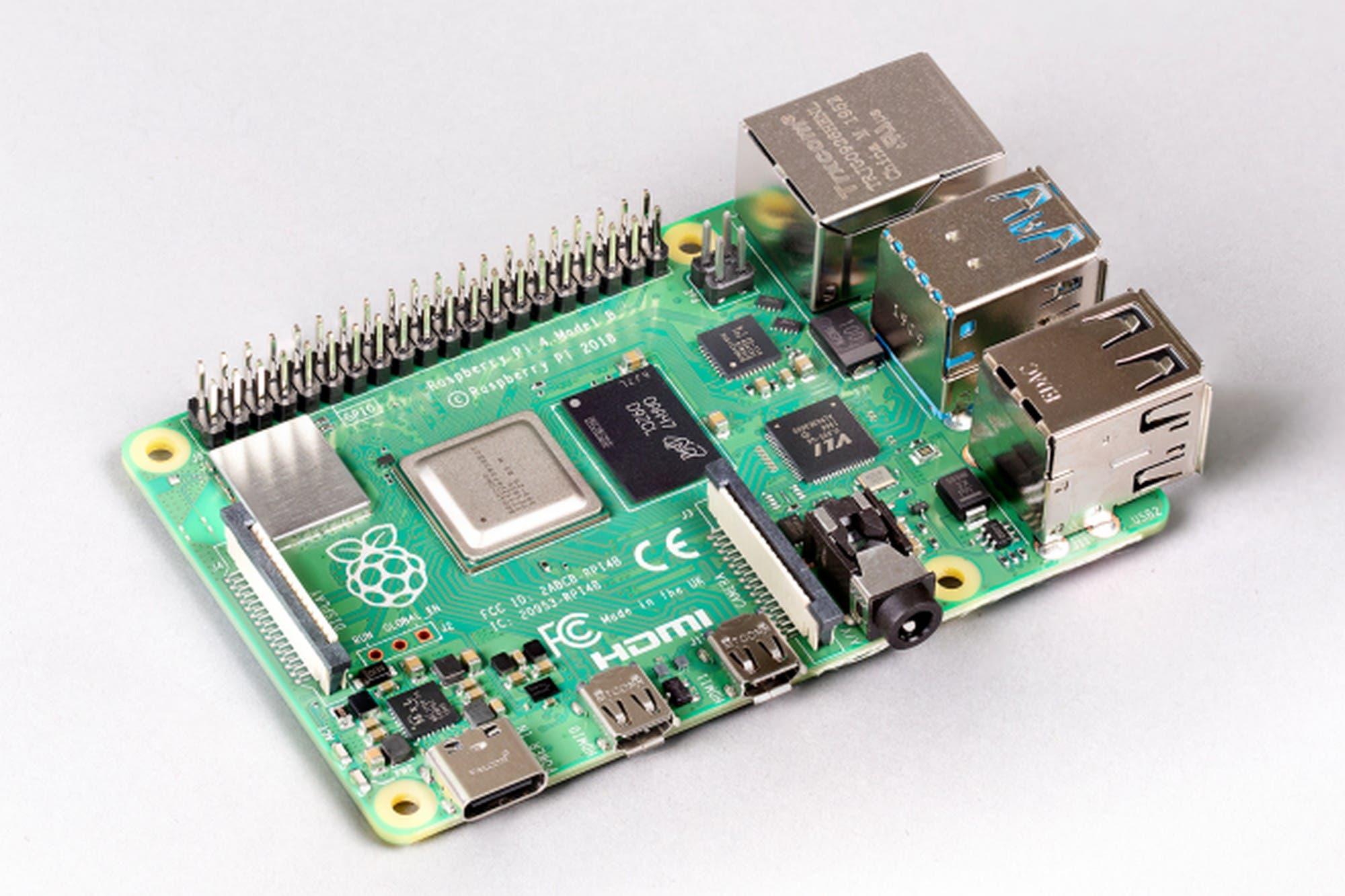 Más memoria: lanzan una nueva versión de la minicomputadora Raspberry Pi 4 con 8 GB de RAM