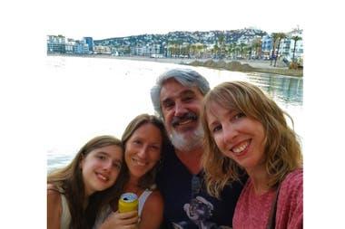 Claudia Luján tiene 45 años, es psicóloga y hace un año y medio se instaló en Andorra con su familia