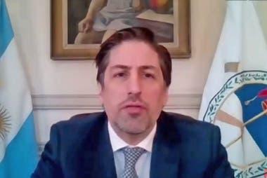 Coronavirus: el ministro Trotta participó online de la vuelta a clases en San Juan