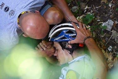 """El equipo Deceunink Quick-Step informó que el ciclista belga """"no corre peligro"""""""