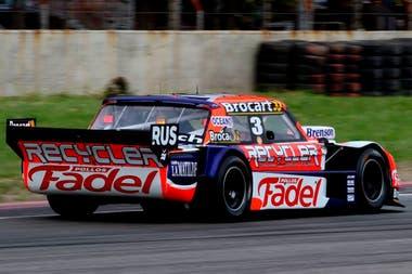 El de Mariano Werner fue el único Ford entre los 11 mejores de la prueba de clasificación de la quinta fecha de Turismo Carretera, en el autódromo Gálvez.