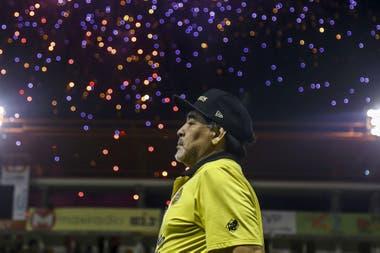 Su paso por Dorados de México, en 2018; allí relanzó su carrera como entrenador