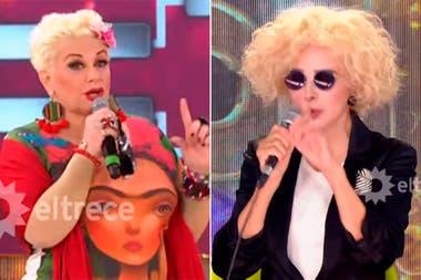 En Cantando 2020, Carmen Barbieri no aceptó la devolución de Nacha Guevara y le respondió con ironía