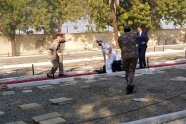 El atentado se produjo en un cementerio saudí