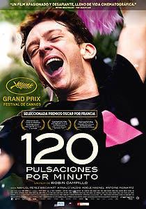 Afiche de 120 pulsaciones por minuto