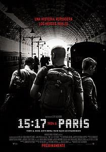 Afiche de 15:17 Tren a París